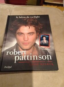 Livre robert pattinson