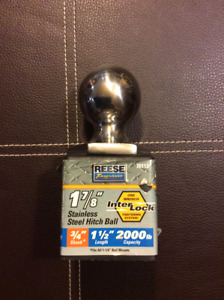 Reese Towpower Staniless Steel Towing Hitch Ball 1-7/8-in