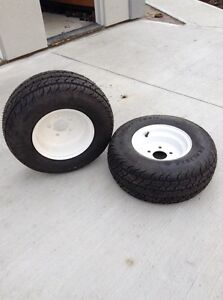 Lawn tractor tires and trailer tires