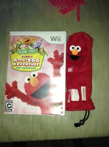 Elmo's A to Zoo Adventure Wii game