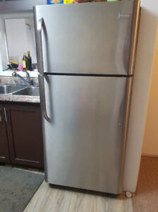 2 STAINLESS-STEAL REFRIGERATORS