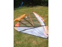 Art attack slalom windsurf sail