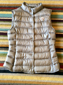 Authentic Moncler grey vest