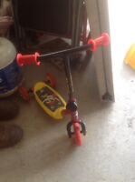 Pirate-themed toddler's scooter for sale
