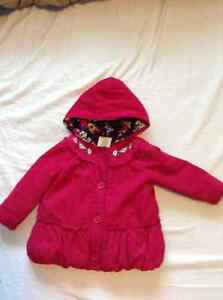 Cute fall/winter jacket for baby girl 12-24 months