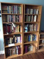 2 Matching Bookcases for Sale