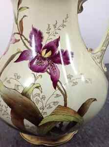 Vintage Carton Ware W&R Stoke On Trent chamber pitcher Cambridge Kitchener Area image 7