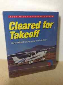 Cleared for Takeoff Multimedia Training System book and cd set Cambridge Kitchener Area image 3