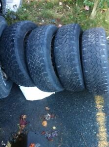 205-55-16 winter tires and Toyota rims