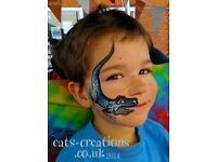 Face Painting & Body Art at Parties, Events, Fetes from UK Professional Face Painter of the Year