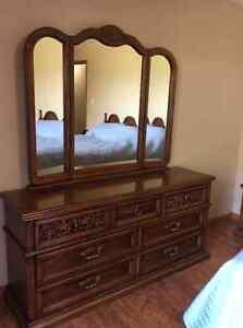 Solid Wood Bedroom Suite