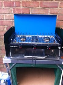 Camping gaz supergrillogas camping cooker with grill