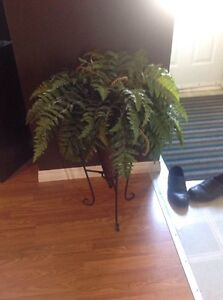 Fake plant with stand