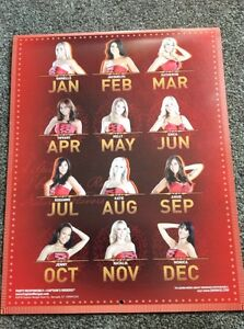 Captain Morgan signed calendar.  Regina Regina Area image 3