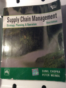 Supply Chain Management: Strategy, Planning &Operation - 2009