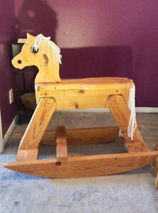 Wooden Rocking Horse **Great Shape