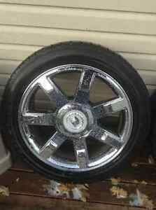 Escalade rims 22 new tires London Ontario image 1