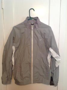 Ladies grey Nike spring jacket