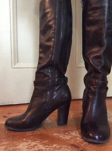 Leather fashion boots - great condition - just reduced price Gatineau Ottawa / Gatineau Area image 3