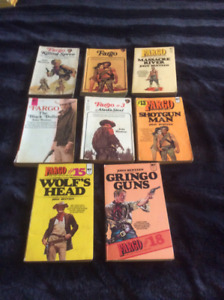Eight books in the series Fargo by John Benteen