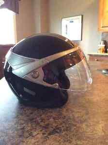 3/4 Classica Womens Peralized Black Harley Davidson Helmet
