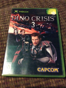 Dino crisis 3 for Xbox price is FIRM! CIB.