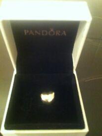 Genuine Pandora mum heart charm