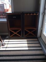 Wine rack/bar storage ****price reduced! Must sell