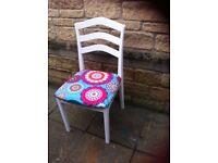Chair retro material