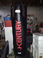Punching bag, gloves, bench press, weights $250OBO
