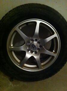 Set of 4 alloy wheels/rims