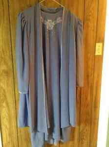 Woman dress + light jacket size 2X