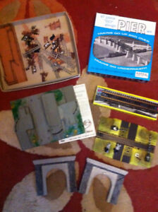 Assorted HO Scale Crossings, Bridges, etc.