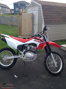 2015 Honda CRF 150F Nearly New