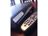 SKY HD RECORDABLE BOX with Dish