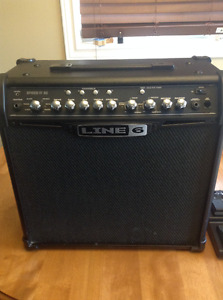 Line 6 Spider IV 30 Watt Guitar Amp with switch/expression pedal