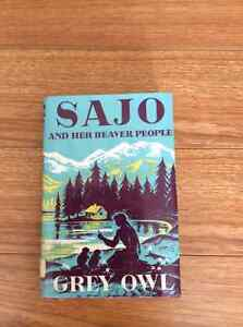 Sajo and Her Beaver People Grey Owl