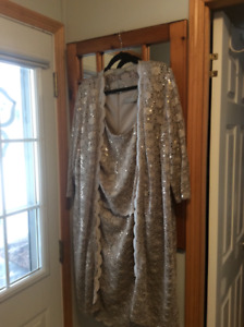 Mother of the bride dress -size 18 worn once