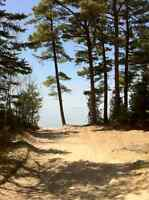 LAKE SUPERIOR BEAUTIFUL BACK LOT WITH DEEDED WATERFRONT ACCESS