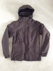Women's Columbia Jacket (Color: Brown/Size: S)