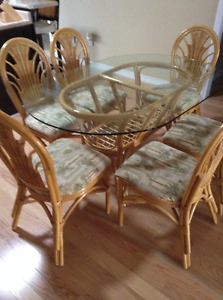 Rattan Dining Set Kijiji Free Classifieds in Ontario Find a