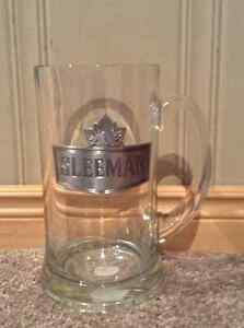 Large Sleeman Beer Mug with pewter logo Kitchener / Waterloo Kitchener Area image 1