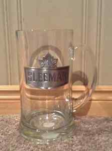 Large Sleeman Beer Mug with pewter logo