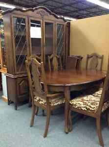 Provincial Style Dining Room Set