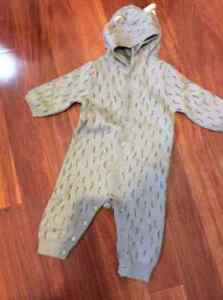 Baby Gap one piece hooded outfit