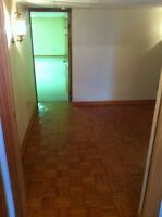Spacious 1 bedroom basement appartment. Available August 1st