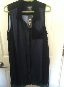 Black blouse/dress