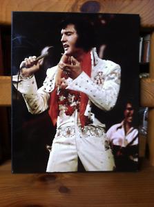 Elvis Plaque/ Poster Board