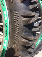 Motocross tires and rims