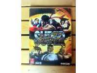 Super street fighter 4 IV capcom gaming guide book prima
